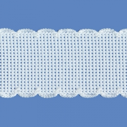 <strong>842/ 1</strong> - Cross stitch fabric/ White