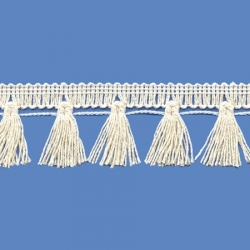 <strong>N32/ 0</strong> - Cotton Tassel Fringe/ Natural