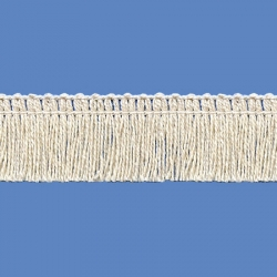 <strong>P262/ 0</strong> - Cotton Fringes/ Natural - wide 2,5cm