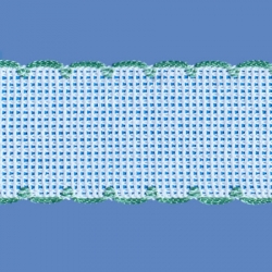 <strong>842/ 26</strong> - Cross stitch fabric/ Light green