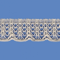 <strong>856/ 0</strong> - Lace Trimming Milenium/ Natural - Wide 3cm
