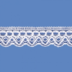 <strong>818/ 1</strong> - Cotton Lace Trimming/ White - Ancho 2,5cm