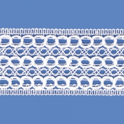<strong>819/ 1 </strong> - Cotton Lace Trimming/ Wide - Wide 4cm.