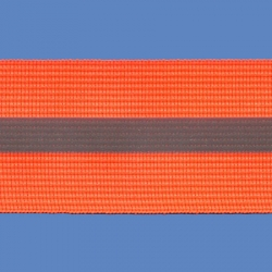 <strong>RE 4/ 7</strong> - Fluorescent Reflective Ribbon/ Orange