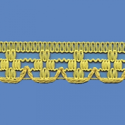 <strong>K880/ 37</strong> - Polyester Lace Trimming Malta/ Lemon