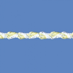 <strong>354/1/20</strong> - Combined braid/ Baby yellow and white