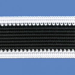 <strong>P4/ 1/2</strong> - Sports tape/ White - Black