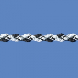 <strong>354/1/2</strong> - Combined braid/ Black and white