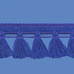 <strong>N32/ 11</strong> - Tassel fringe/ Royal blue
