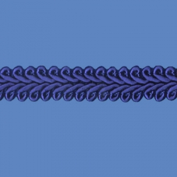 <strong>624/11</strong> - Passementerie/ Royal blue