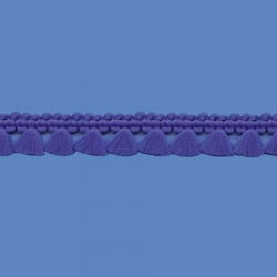 <strong>P33/11</strong> - Fringes/ Royal blue