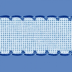 <strong>842/ 11</strong> - Cross stitch fabric/ Royal blue