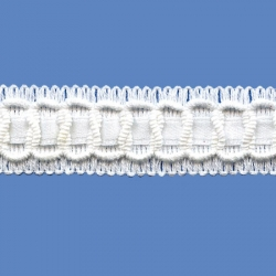 <strong>380/ 1</strong> - Lace Trimming/ White
