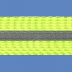 <strong>RE 4/ 14</strong> - Fluorescent Reflective Ribbon/ Yellow