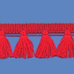 <strong>N32/ 6</strong> - Tassel fringe/ Red