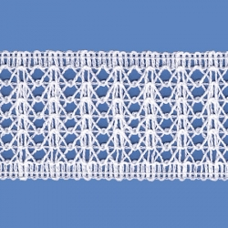 <strong>858/ 1</strong> - Lace Trimming Milenium/ Natural - Wide 4cm